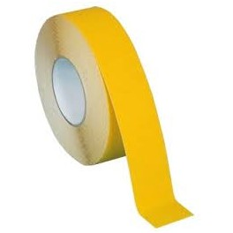 Taśma samoprzylepna podłogowa żółta 33m