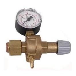 Reduktor ARG/CO2 z jednym manometrem wersja MINI.